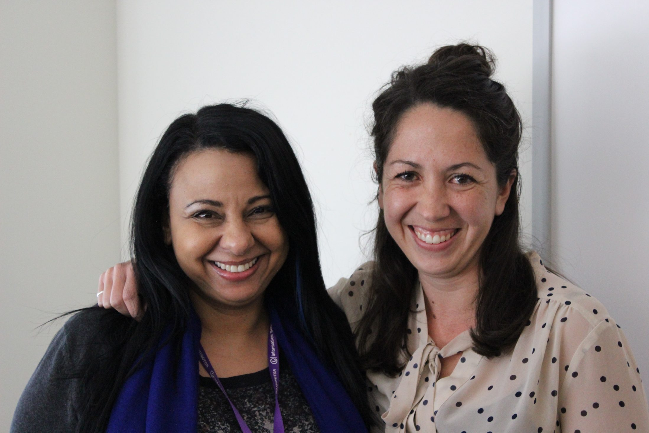 Lydia Saleh Rofail and Lydia Heberling, 2016 Wertheim Prize Recipients